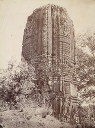 Brick temple of Siddheshvara, Bahulara, Bankura District